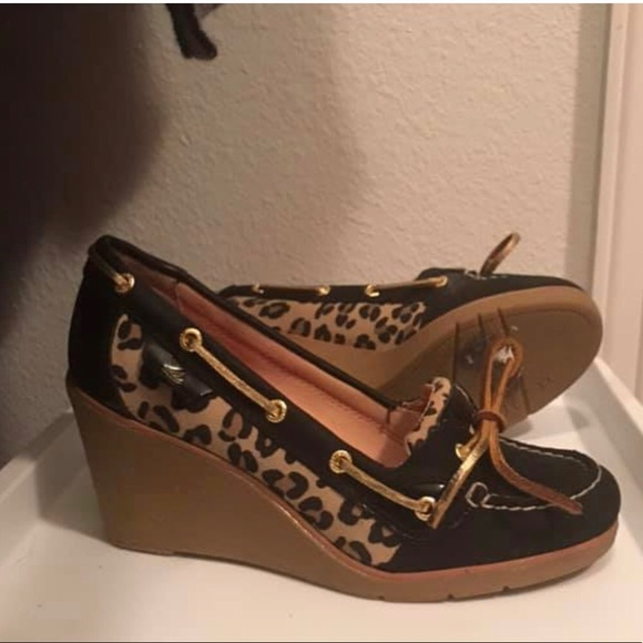Sperry Shoes - Sperry Wedge Loafers